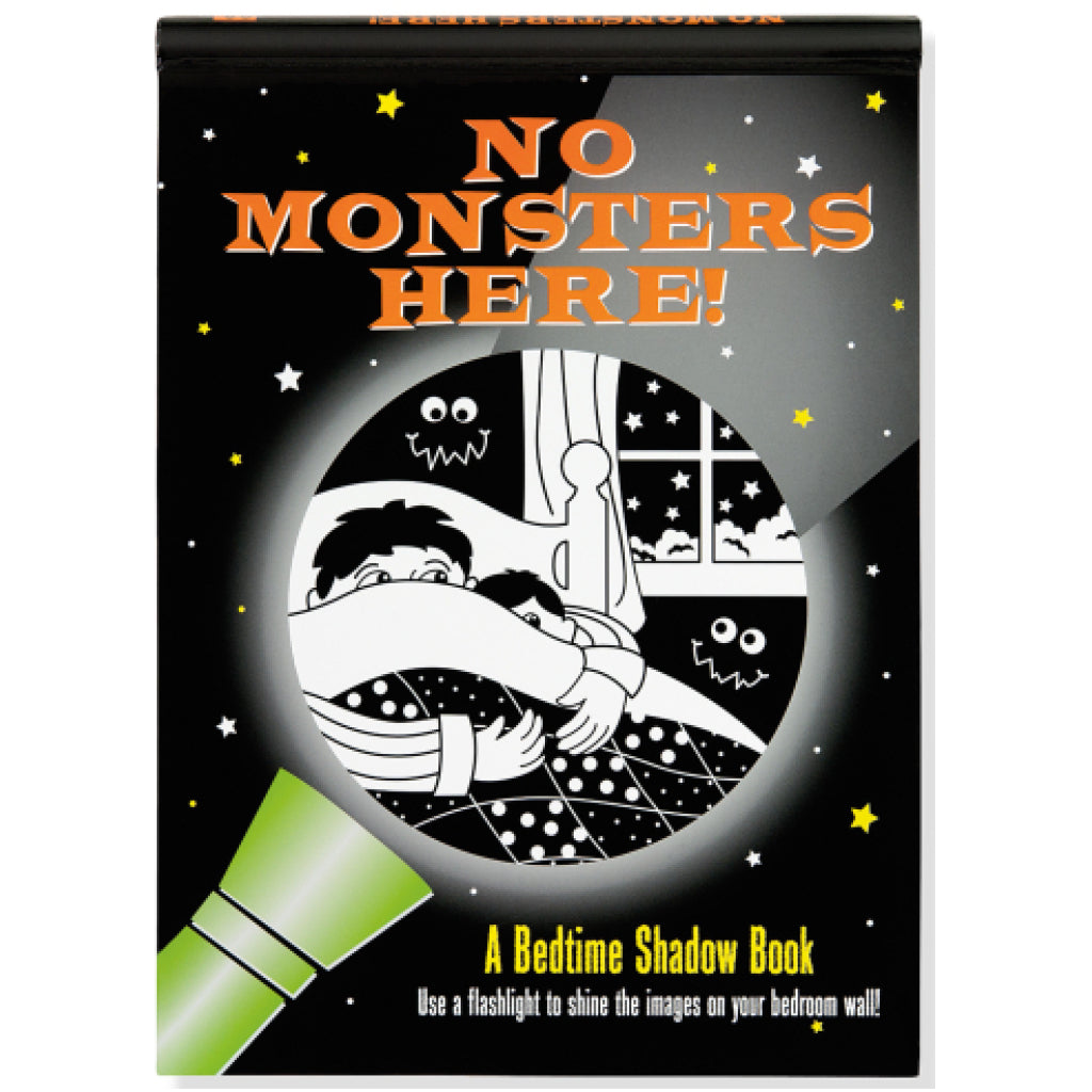 No Monsters Here Shadow Book
