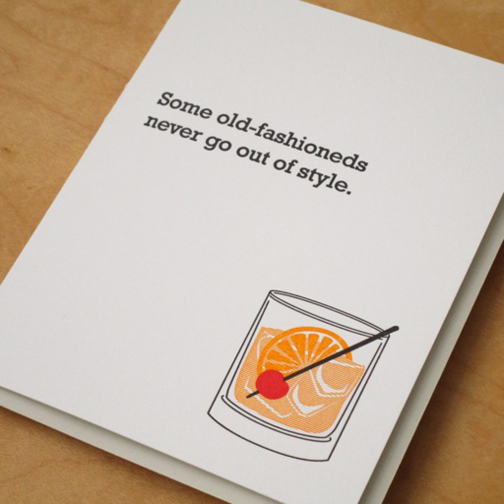 Old Fashioned Card