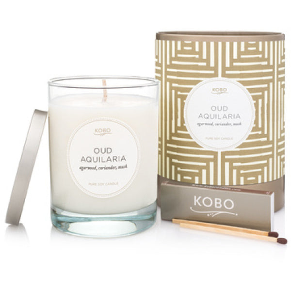 Oud Aquilaria Travel Candle