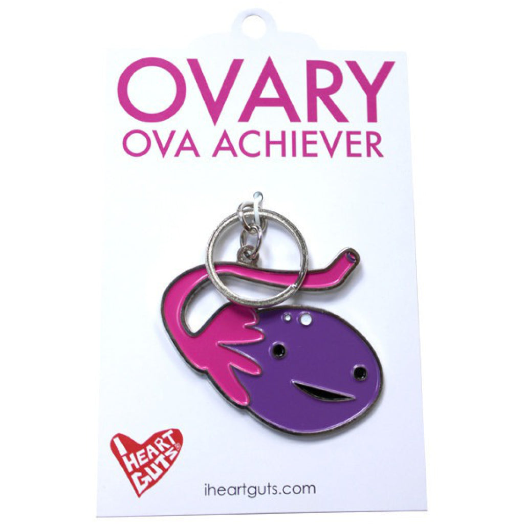Ovary Key Chain package