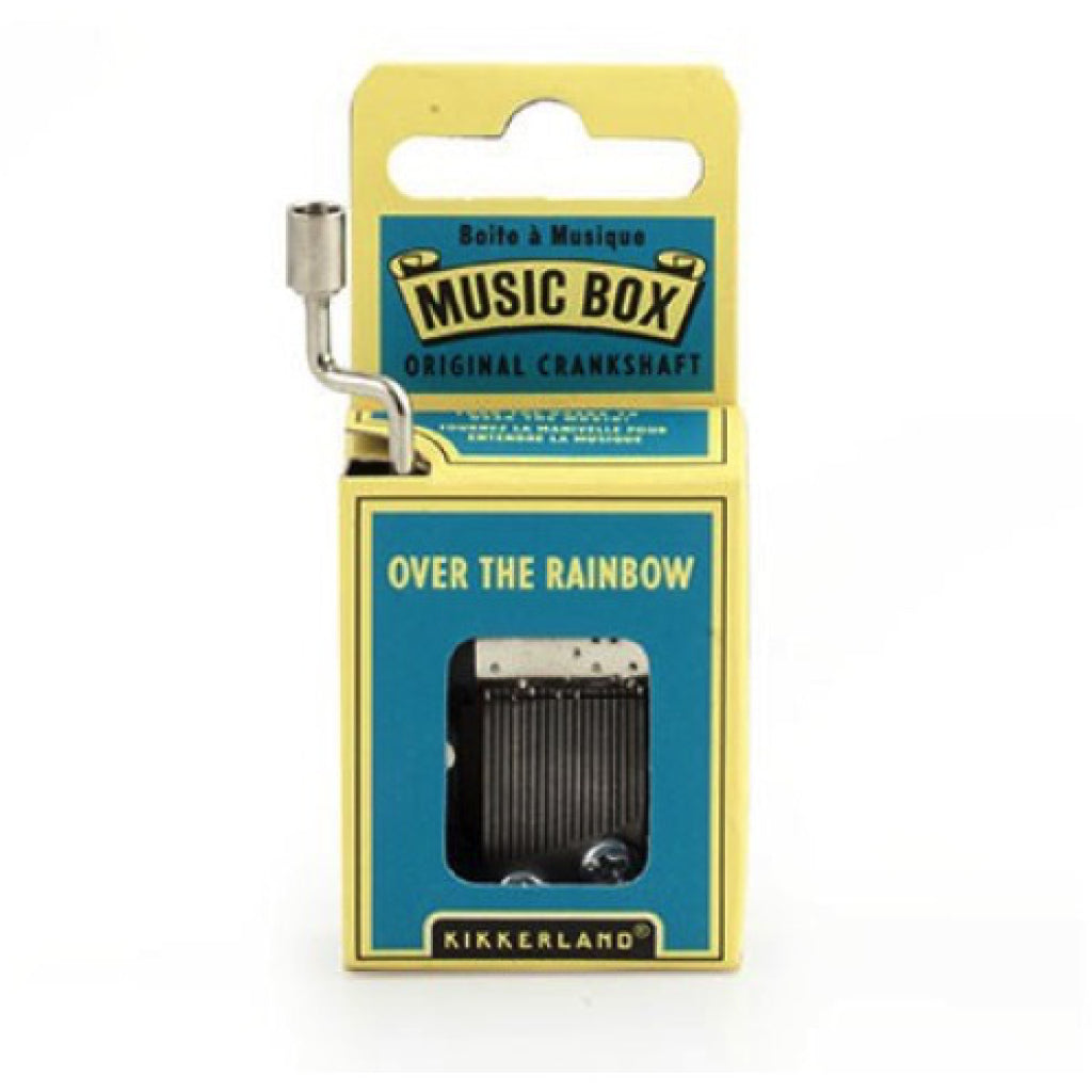 Over The Rainbow Crank Music Box