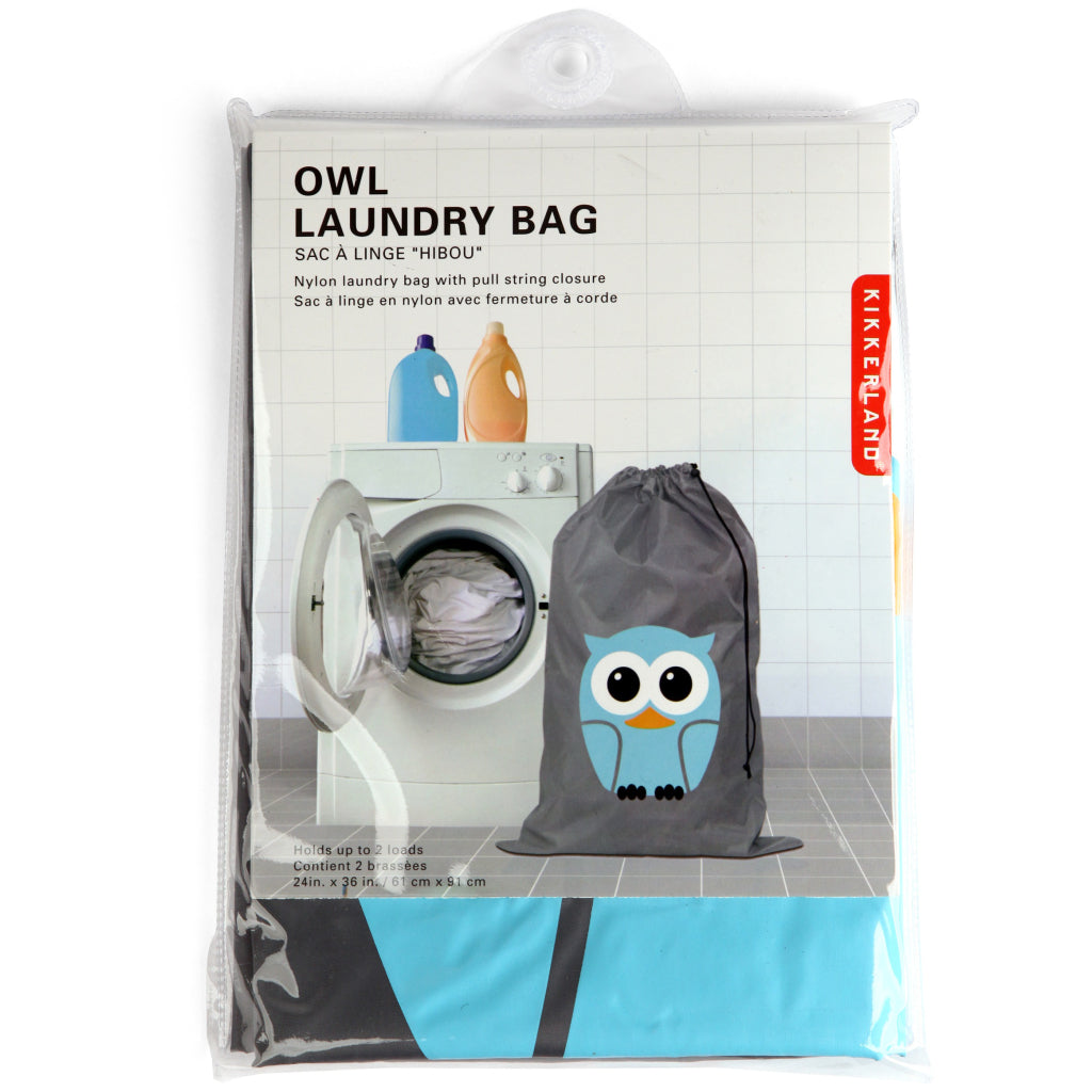 Owl Laundry Bag package