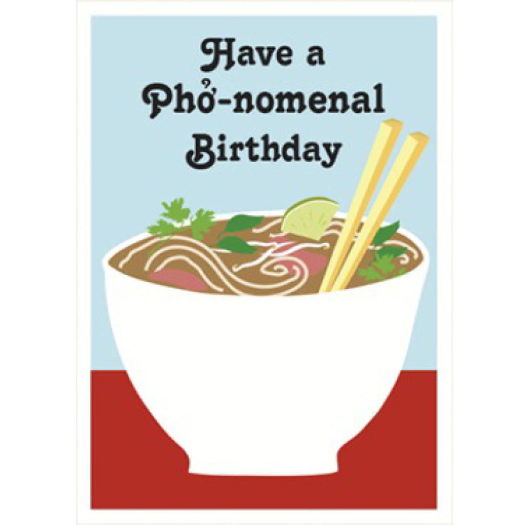Pho Birthday Card