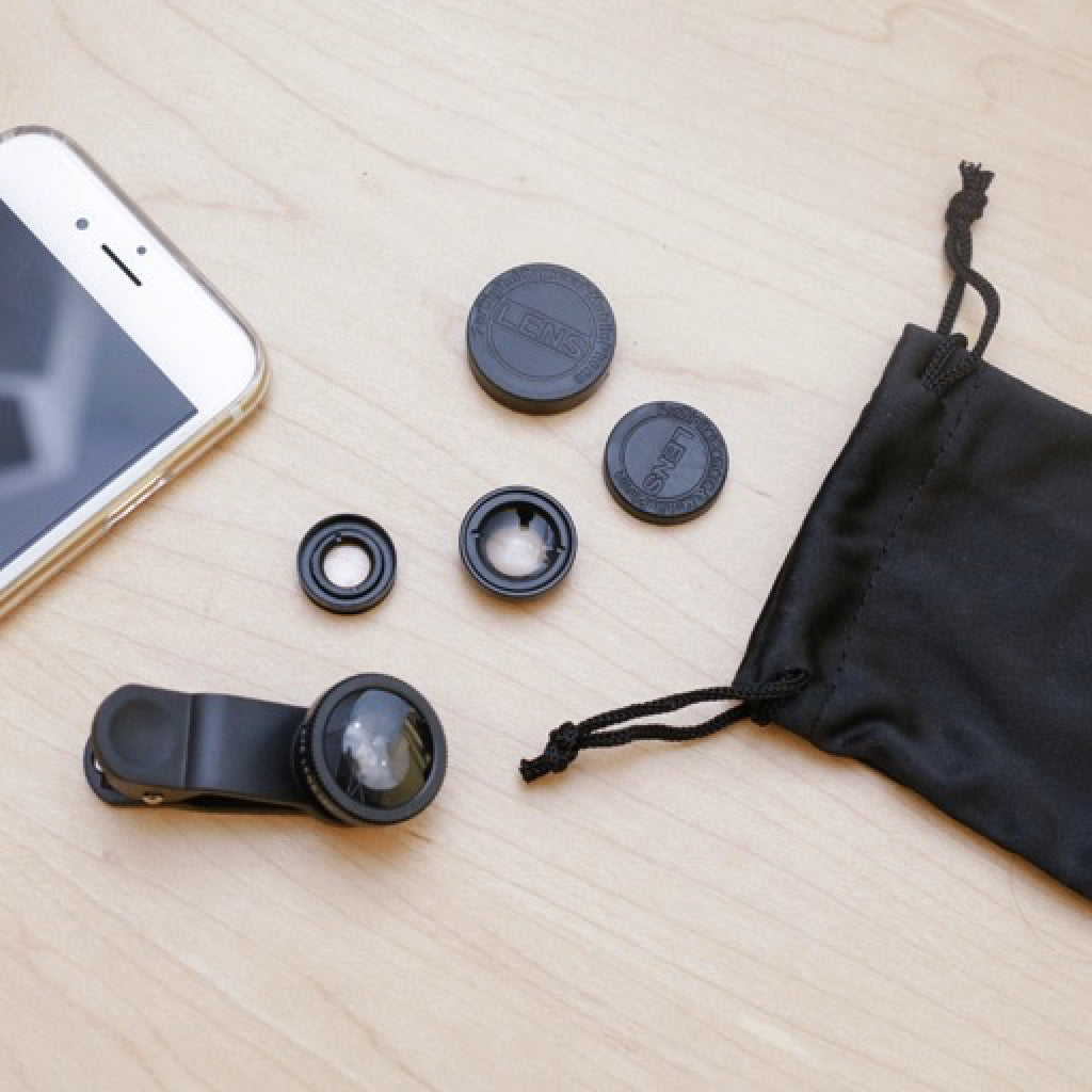Phone Lens Kit Set of 3 lifestyle