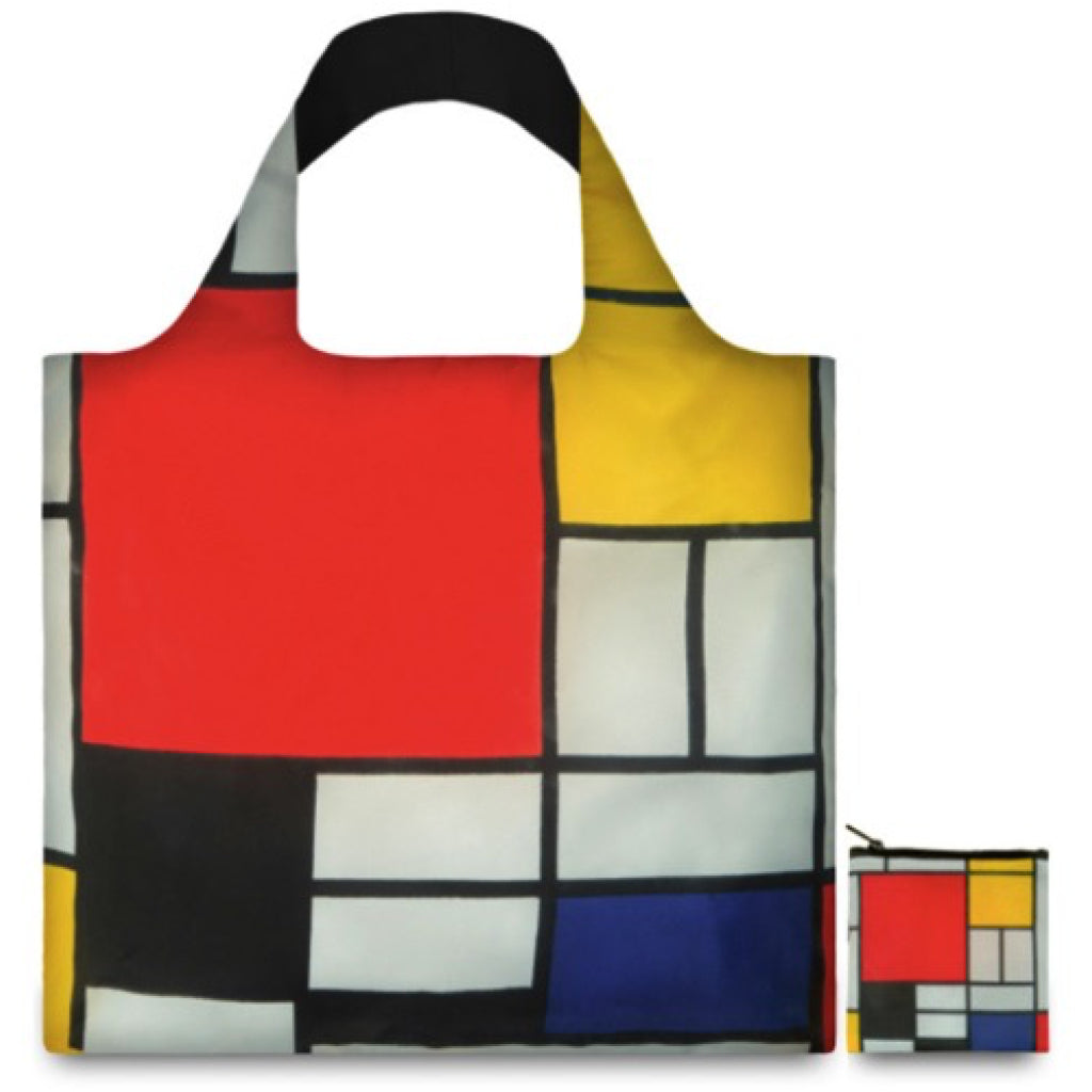 Piet Mondrian Resusable Shopping Bag alternate