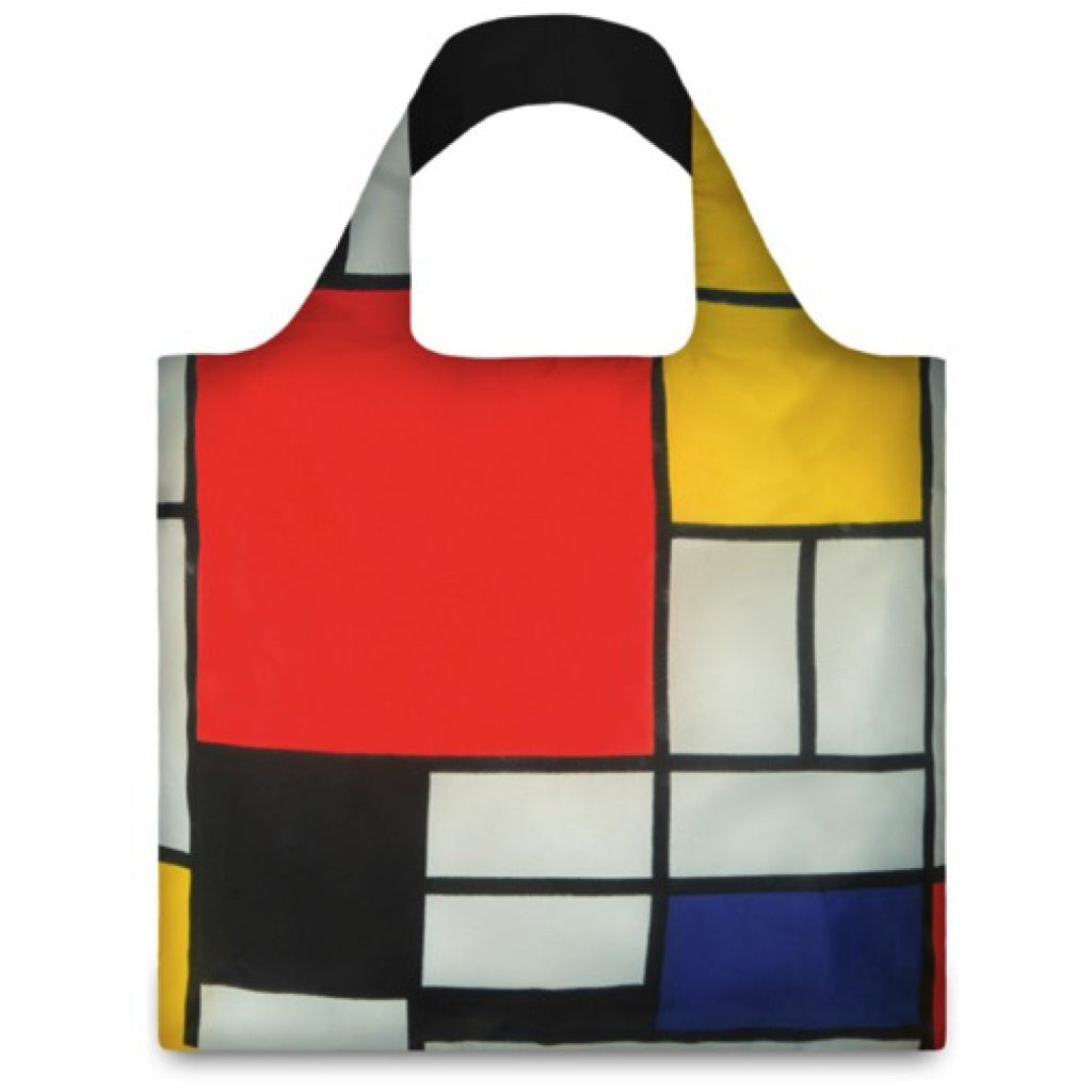 Piet Mondrian Resusable Shopping Bag