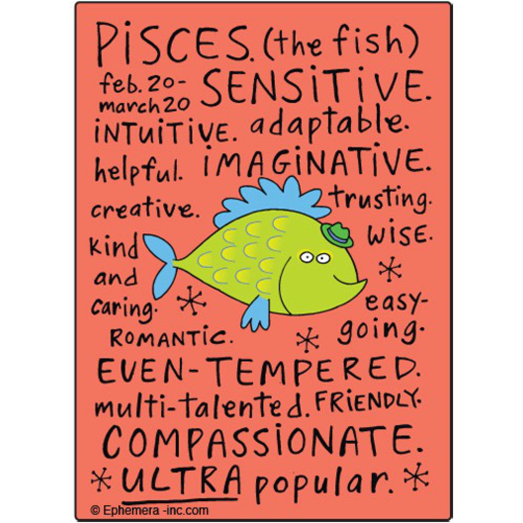 Pisces Nice Magnet
