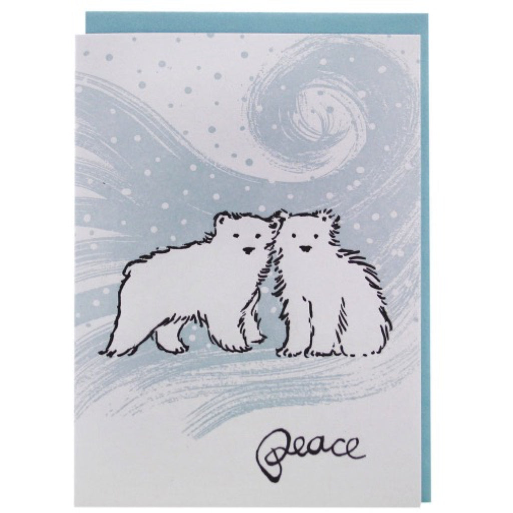 Polar Bear Cubs Card
