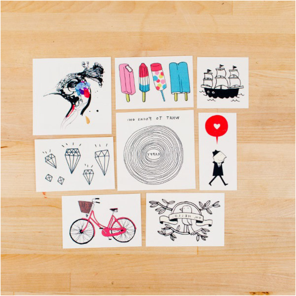 Premier Temporary Tattoo Set product