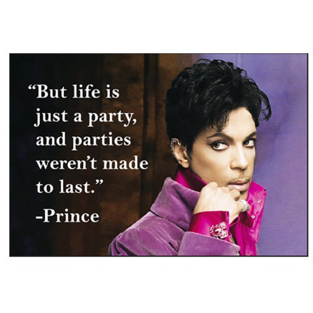 Prince Quotation Magnet