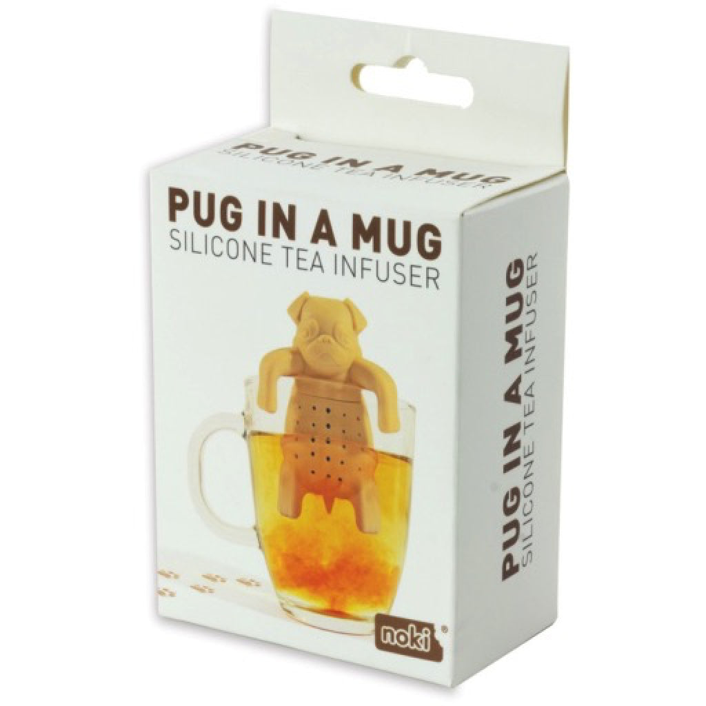 Pug In A Mug Silicone Tea Infuser box