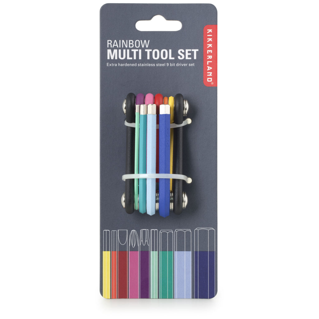 Rainbow Multi Tool packaging