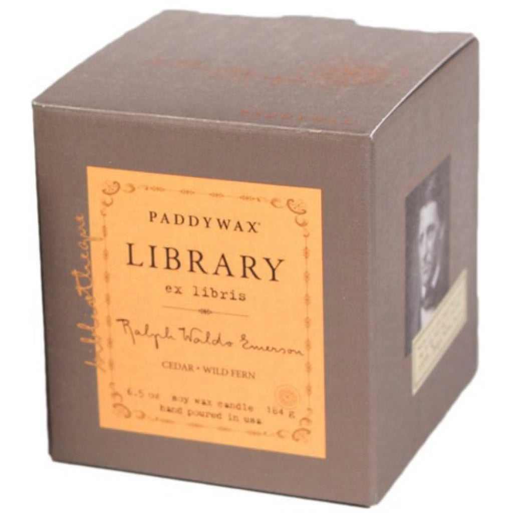 Ralph Waldo Emerson Library Candle box
