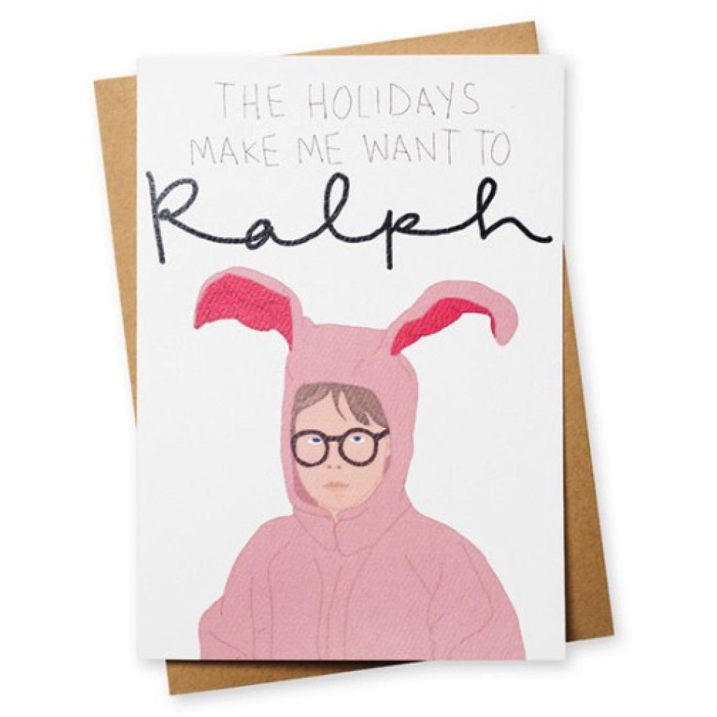 Ralphie Christmas Card