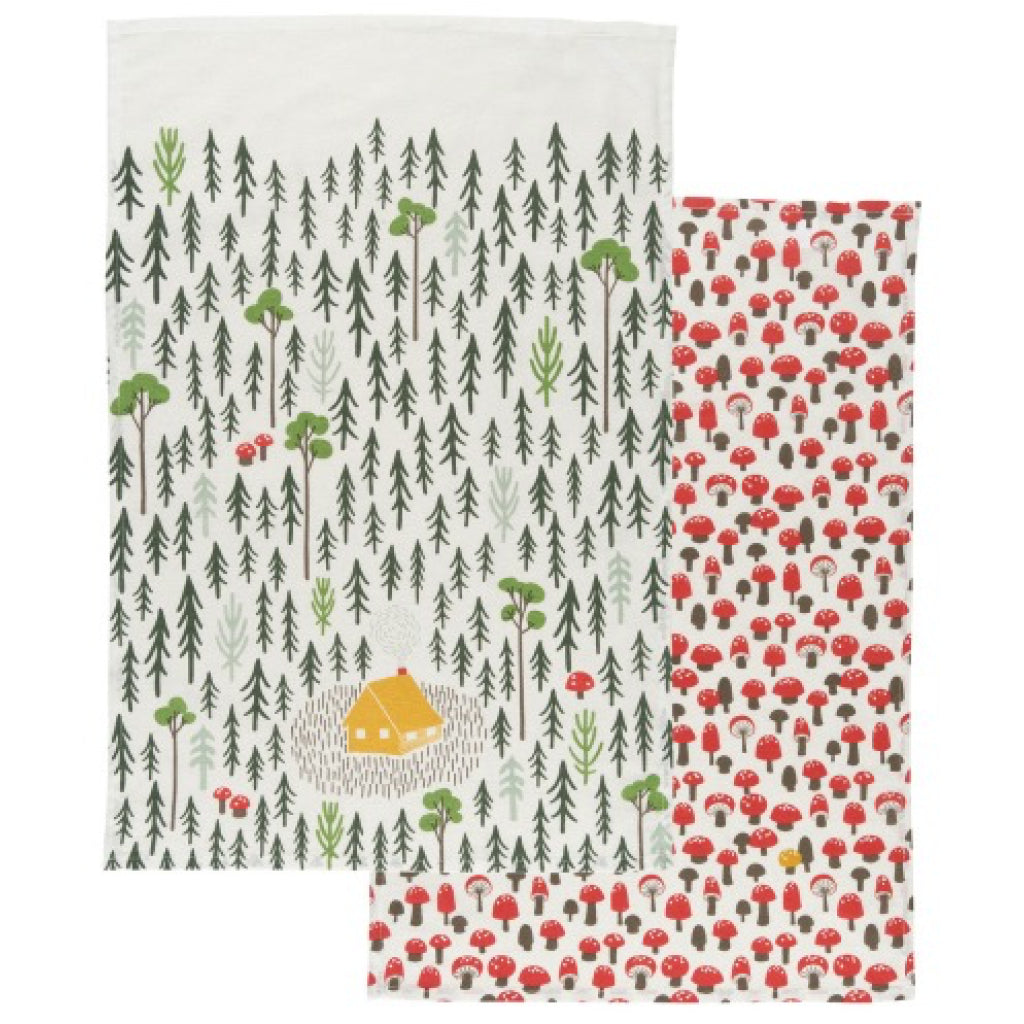 Retreat Tea Towels Set of 2