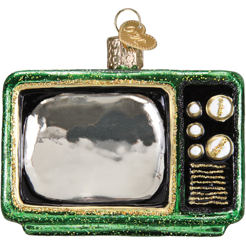Retro TV Ornament