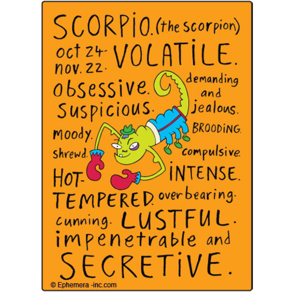Scorpio Mean Magnet