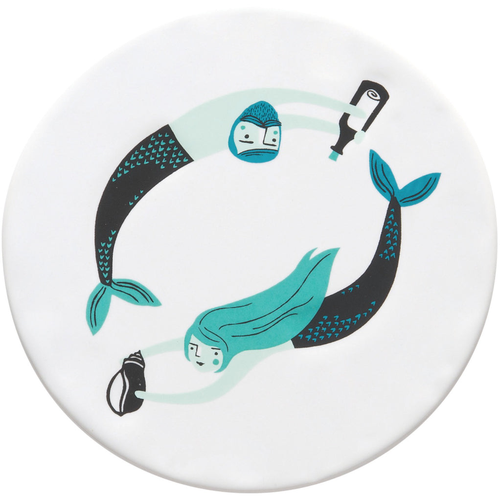 Sea Spell Ceramic Coasters Set of 4 product