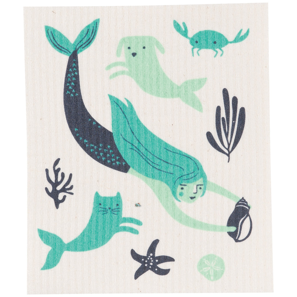 Sea Spell Swedish Dish Cloth