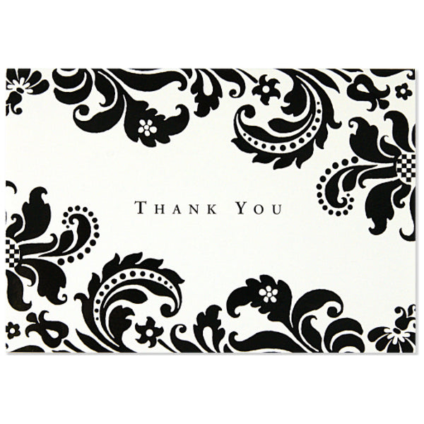 Shadow Tapestry Boxed Thank You Cards