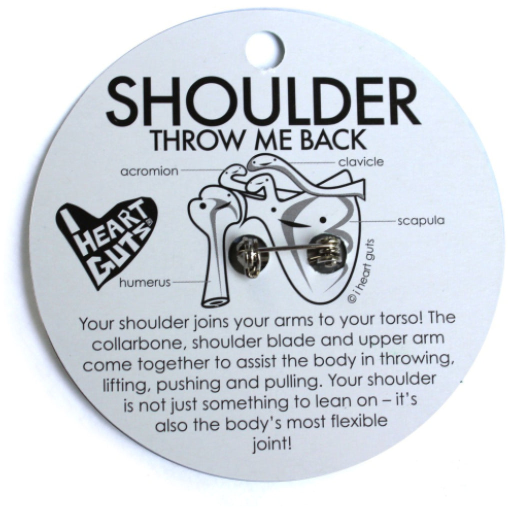 Shoulder Lapel Pin lifestyle