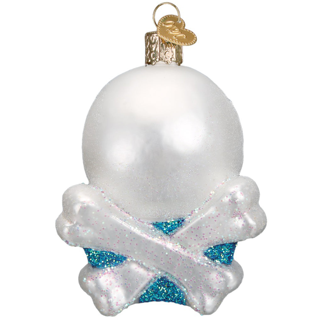 Skull & Crossbones Ornament Back