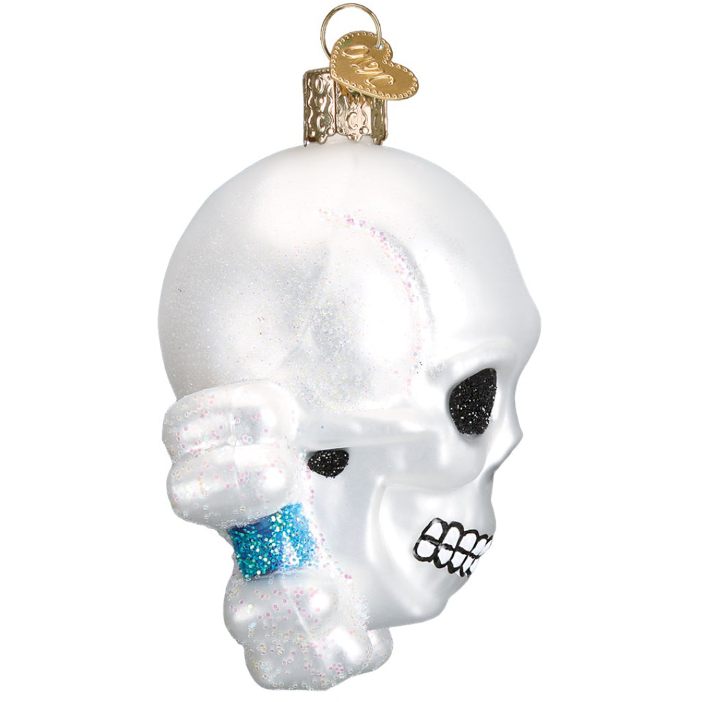 Skull & Crossbones Ornament Side