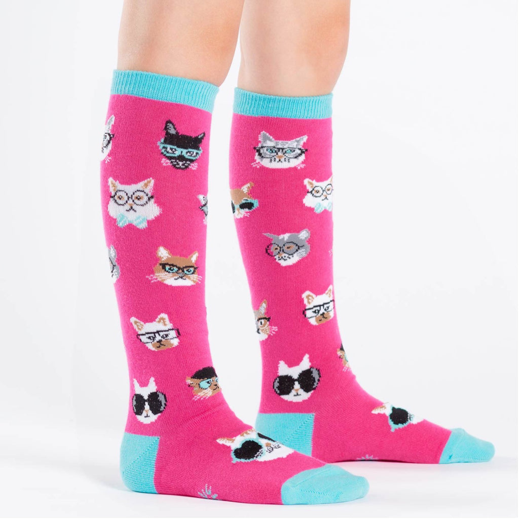 Smarty Cats Junior Knee Socks