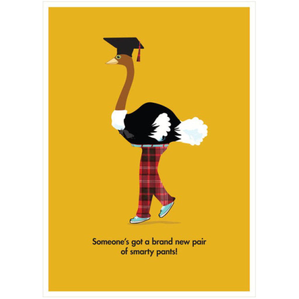 Smarty Pants Graduation Card