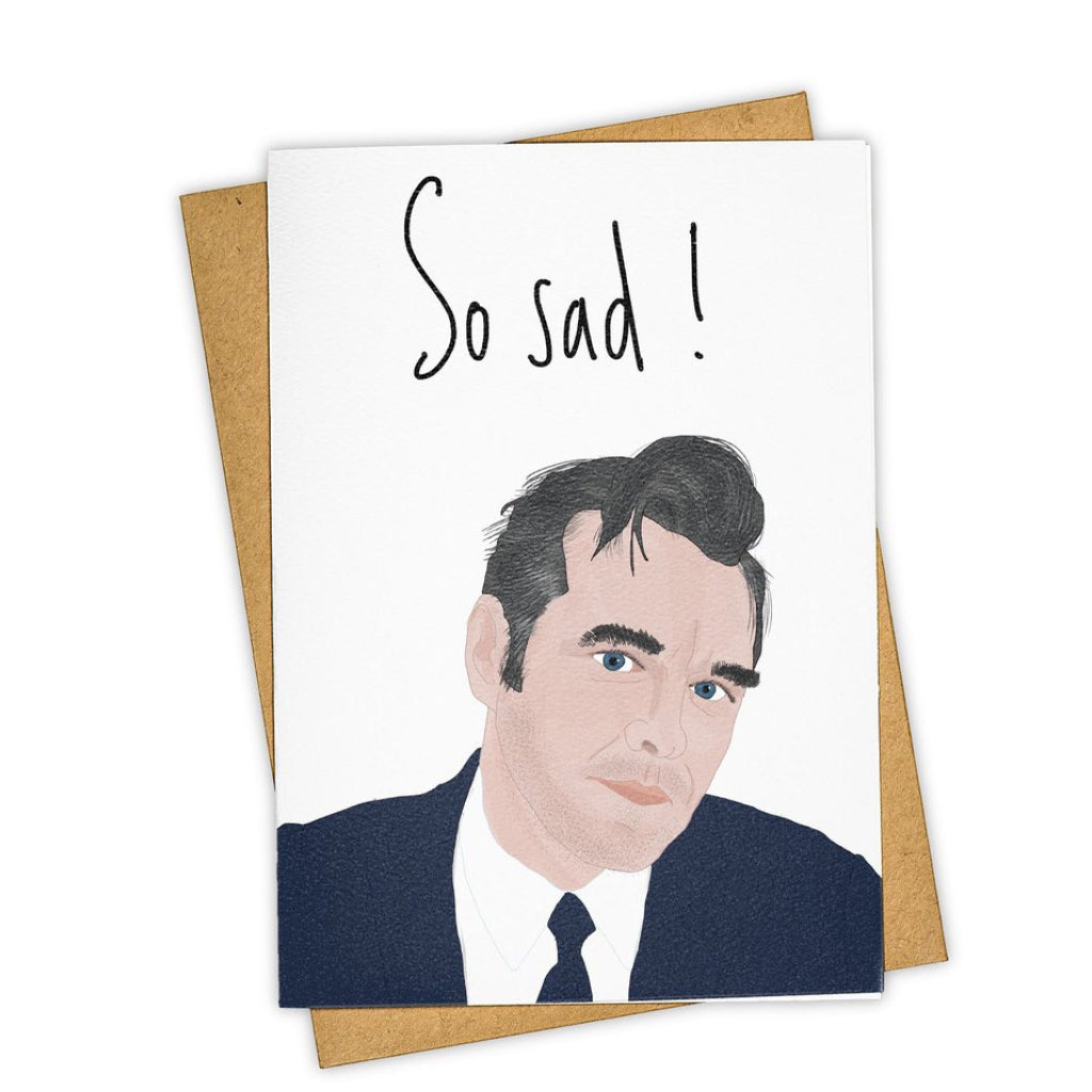 So Sad Morrissey Card