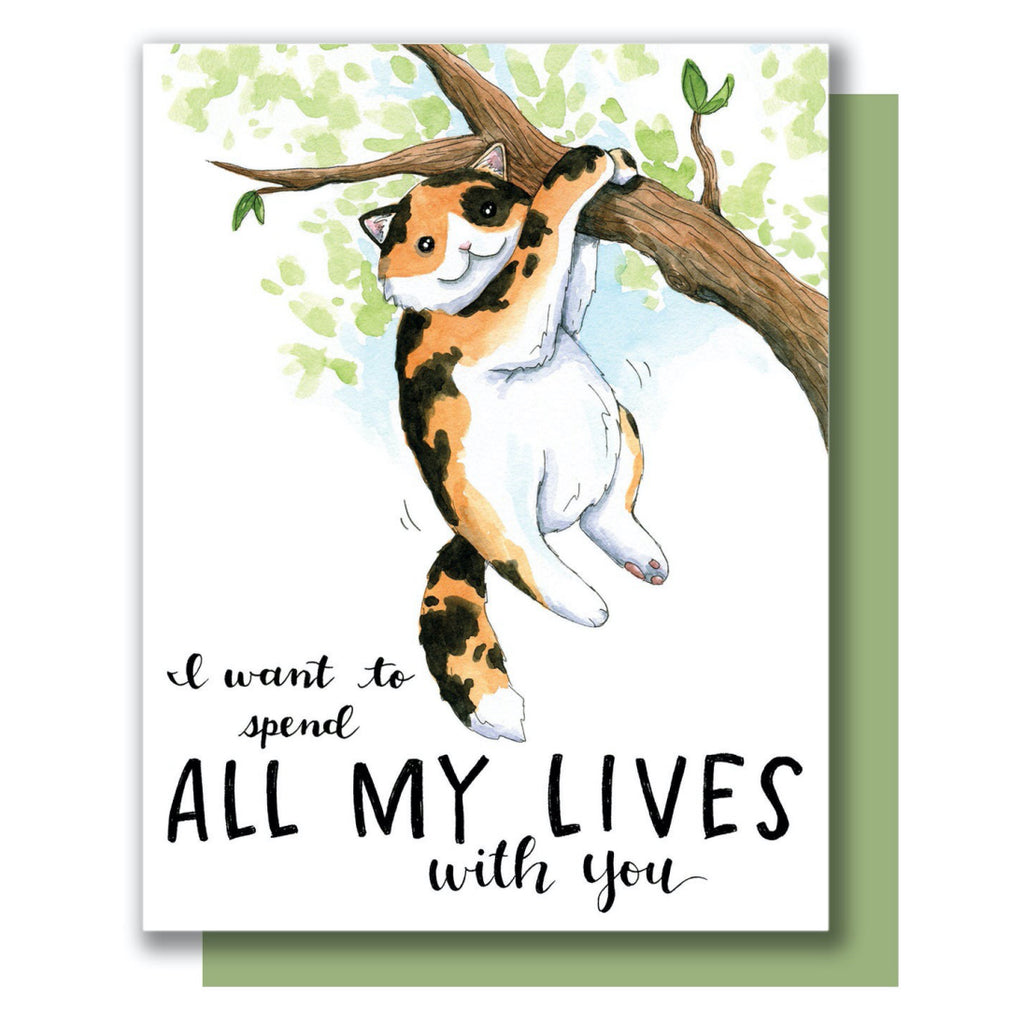 Spend All My Lives With You Card