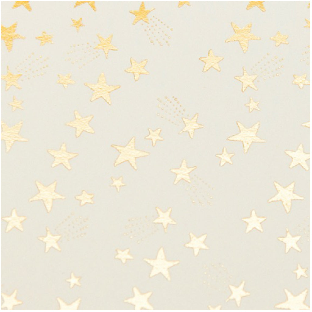 Starry Gold Card close-up