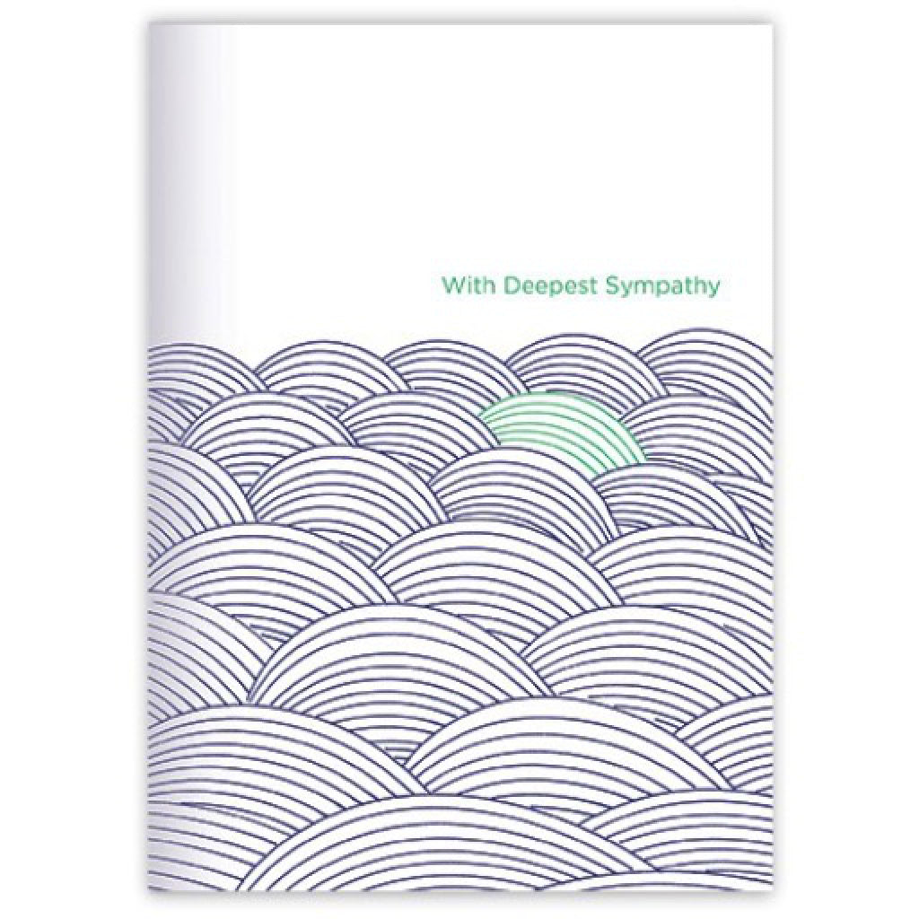 Sympathy Waves Card