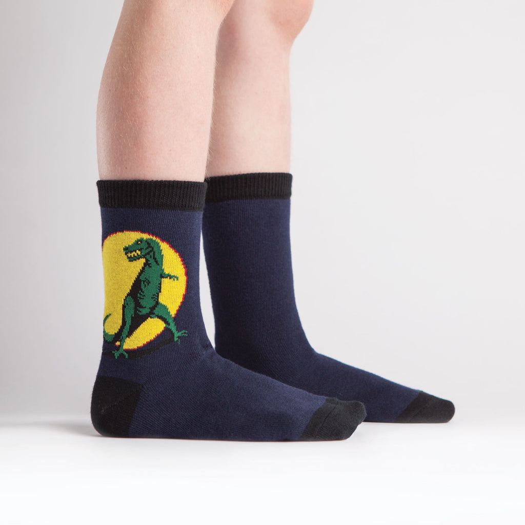 T-Rex Junior Crew Socks