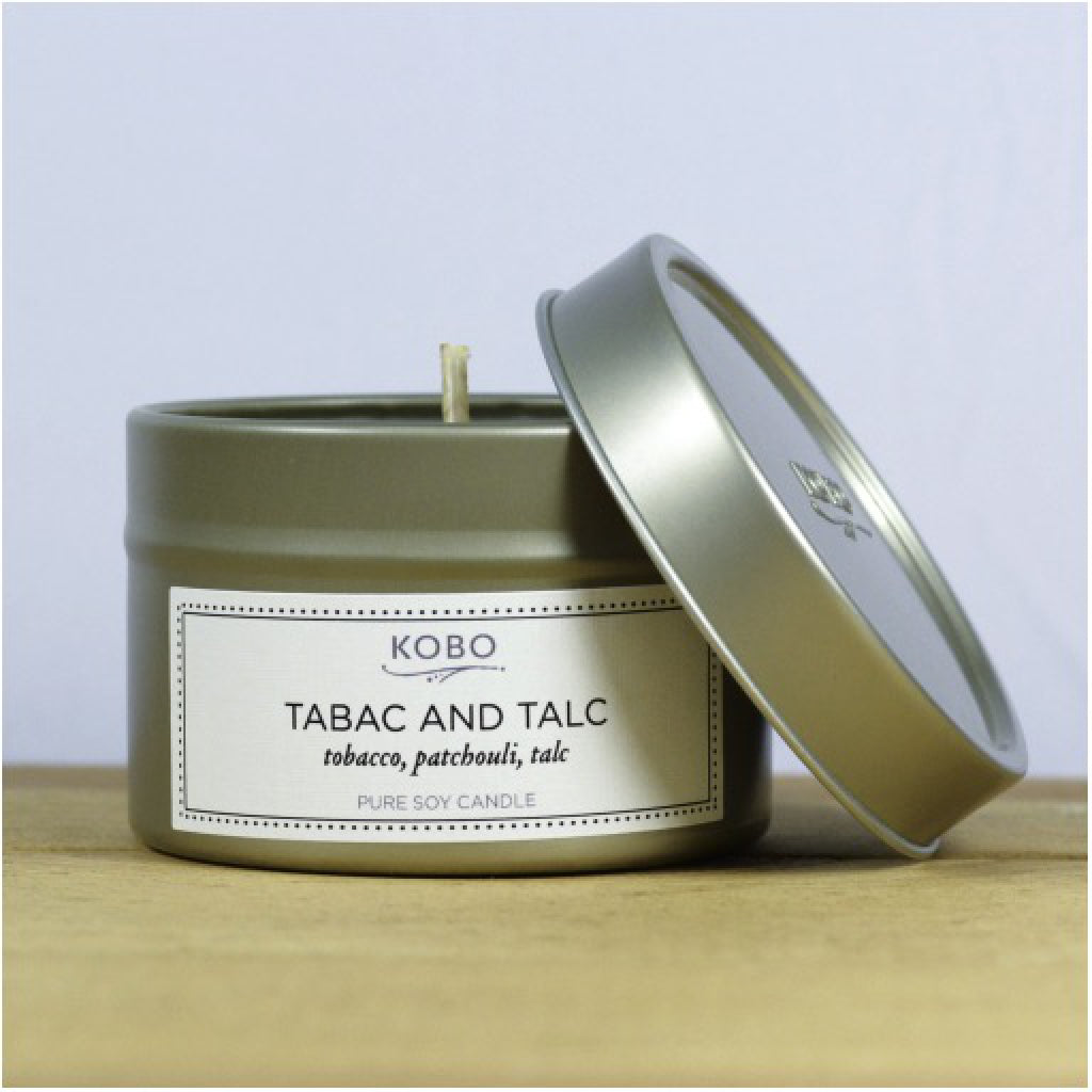 Tabac & Talc Travel Candle front