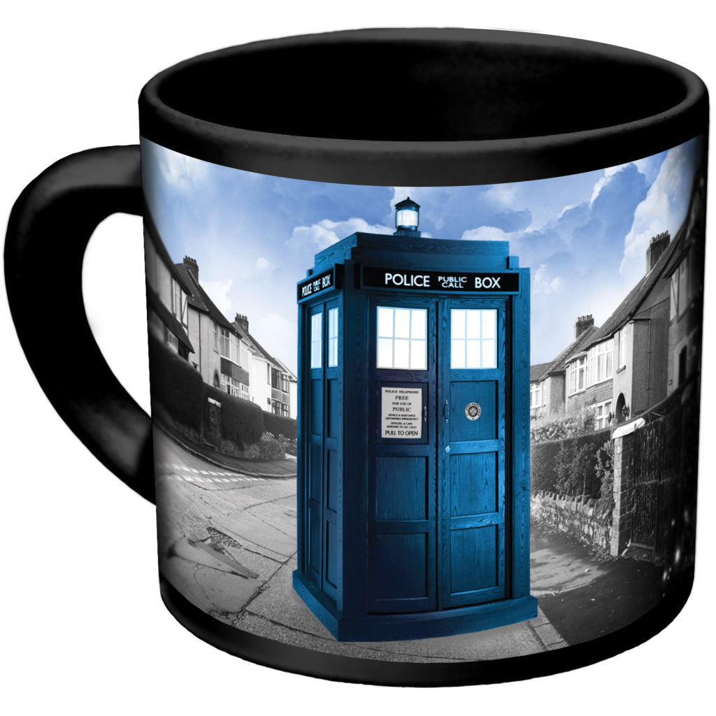 TARDIS Mug back alternate