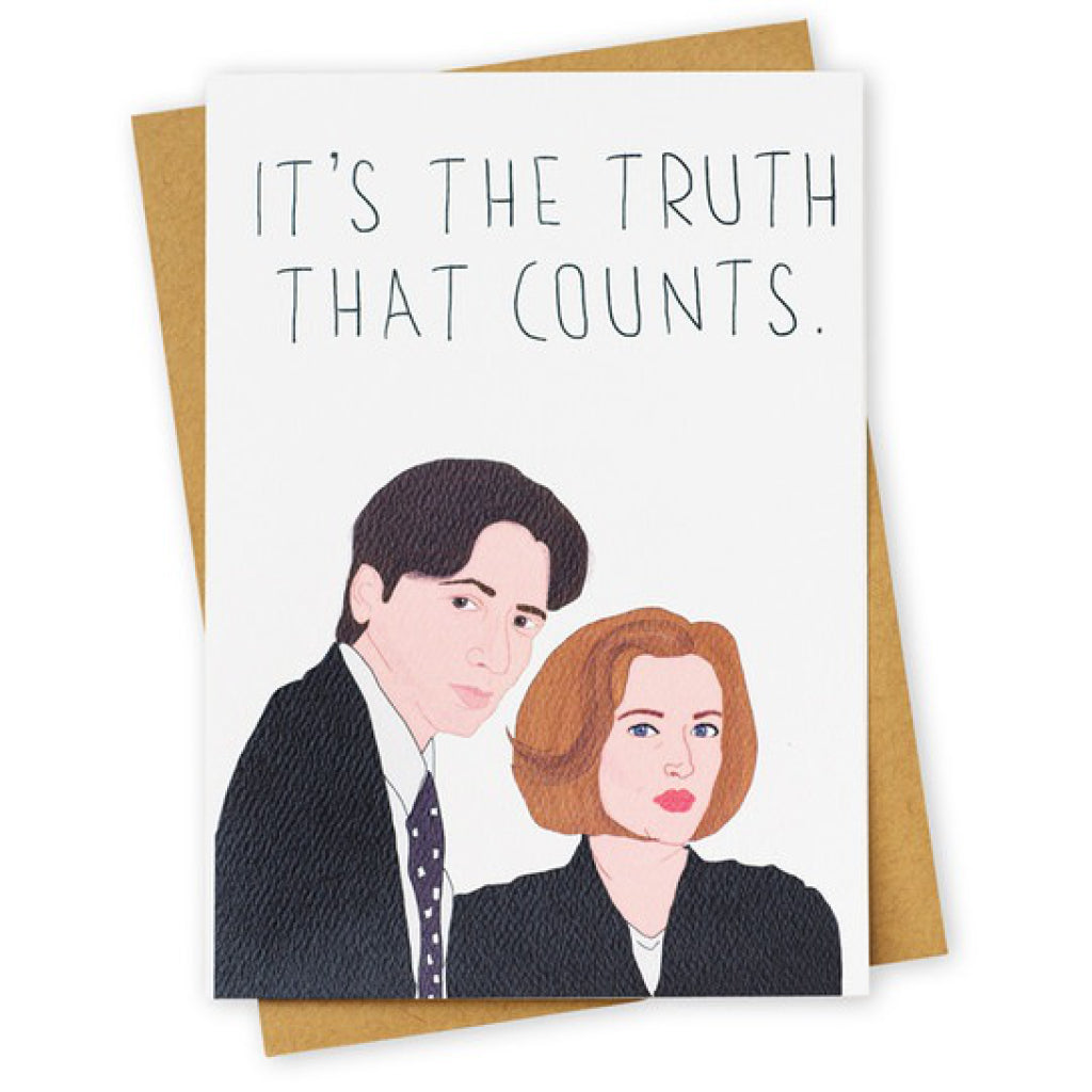 The Truth X Files Card