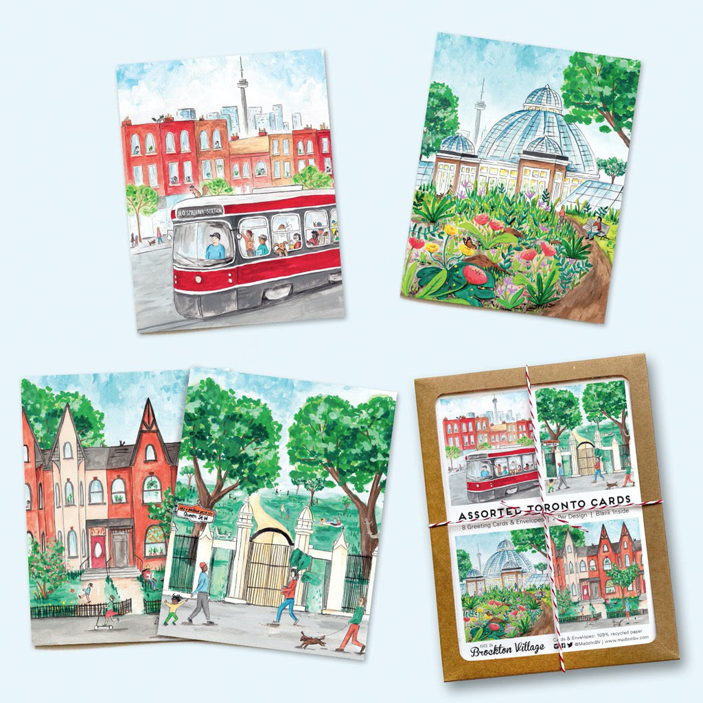 Toronto Summer Collection Boxed Notecards