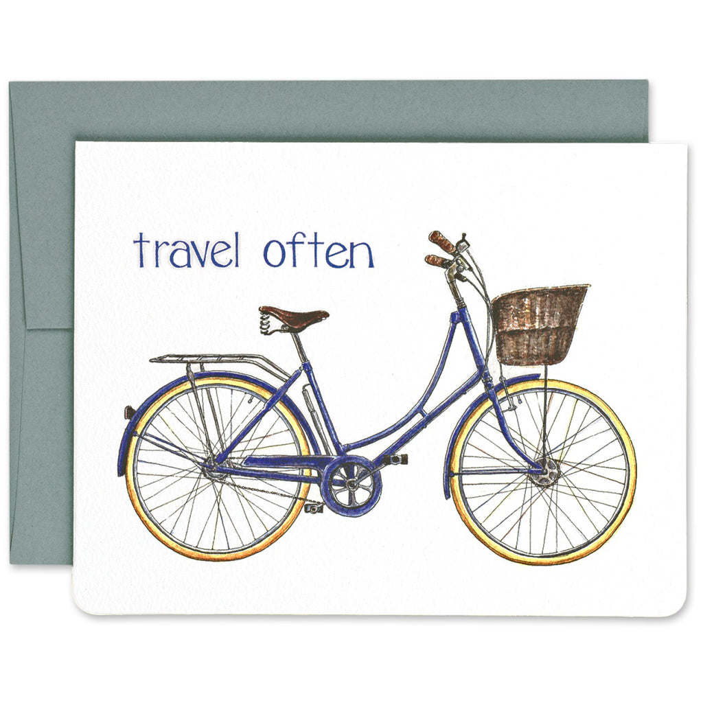 Travel Often Bike Card