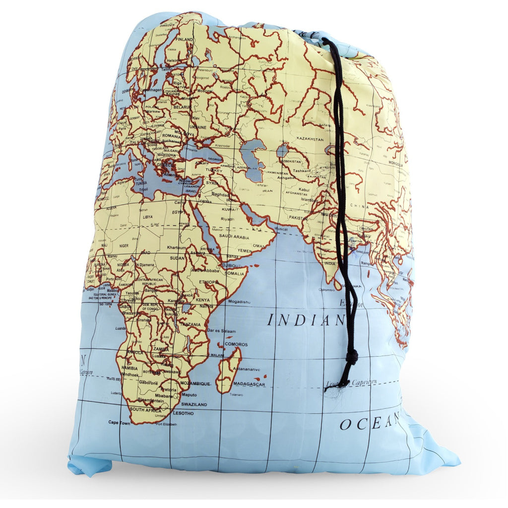 Travel-Size Laundry Bag Maps