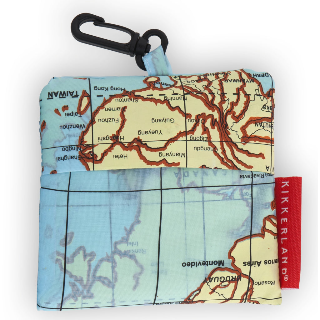 Travel-Size Laundry Bag Maps product