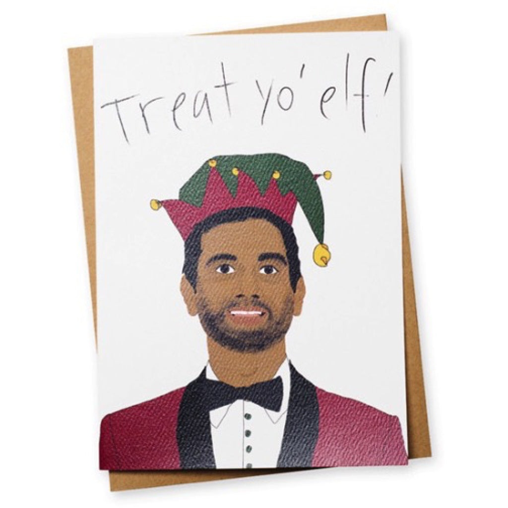 Treat Yo Elf Christmas Card