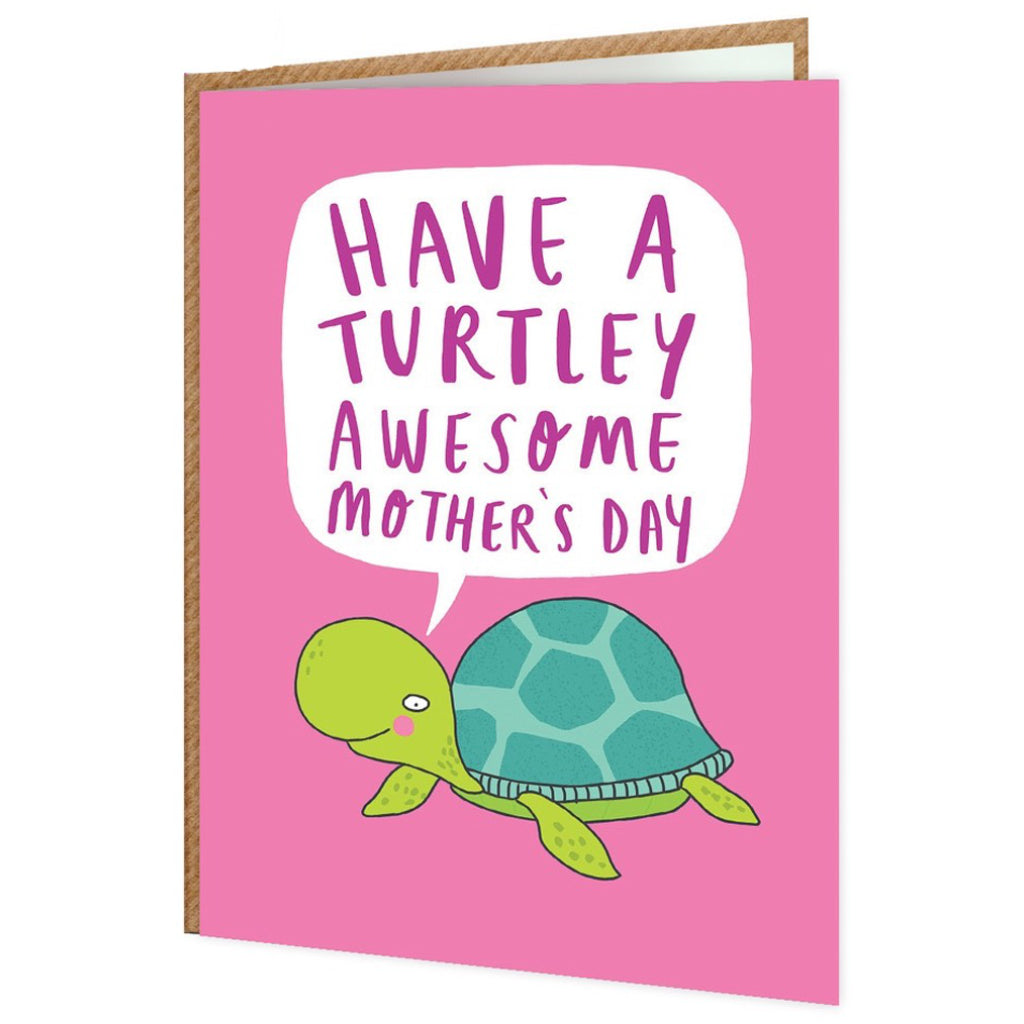 Turtley Awesome Mother's Day Card
