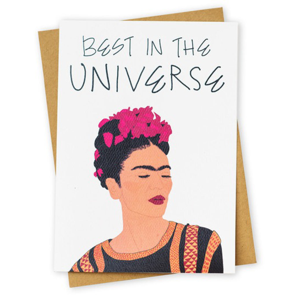 Uni-Wow Frida Kahlo Card