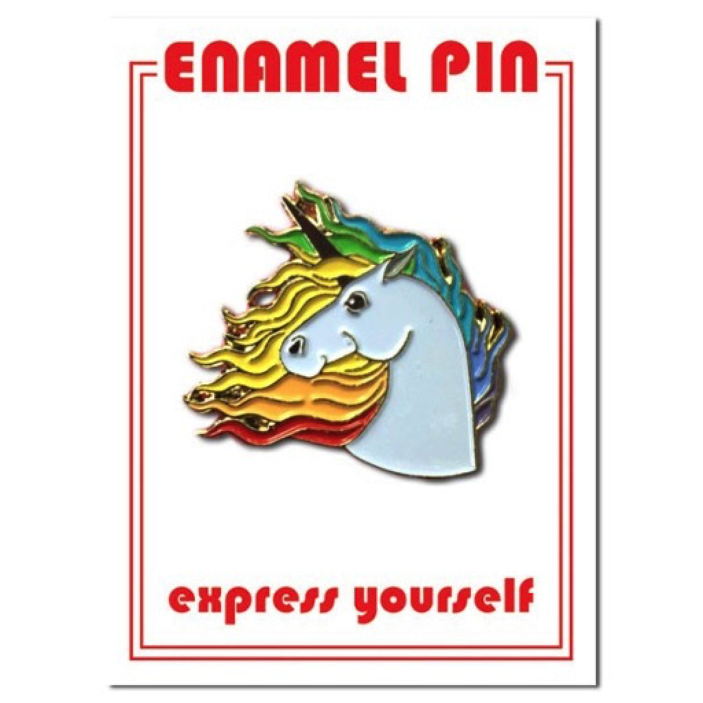 Unicorn Enamel Pin package