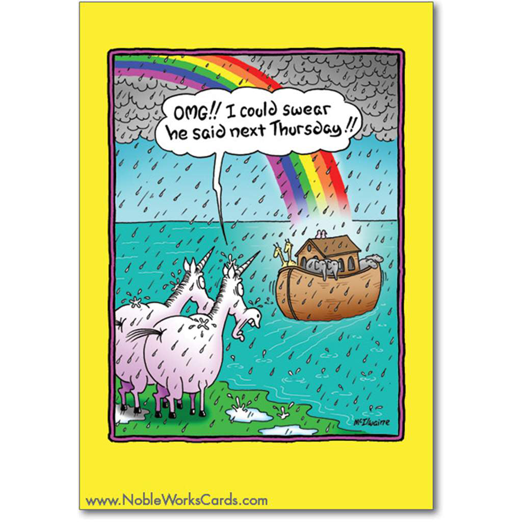 Unicorns Missed the Ark