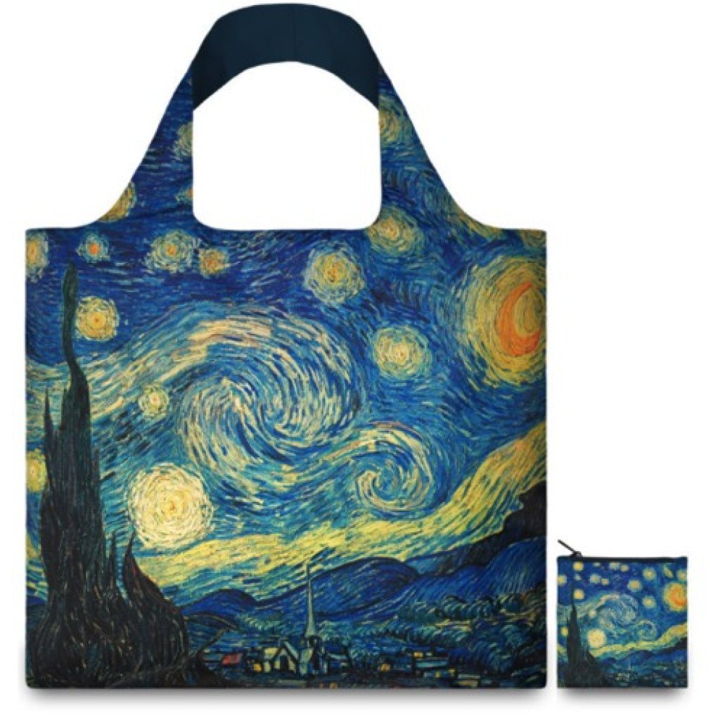 Van Gogh Starry Night Resusable Shopping Bag alternate