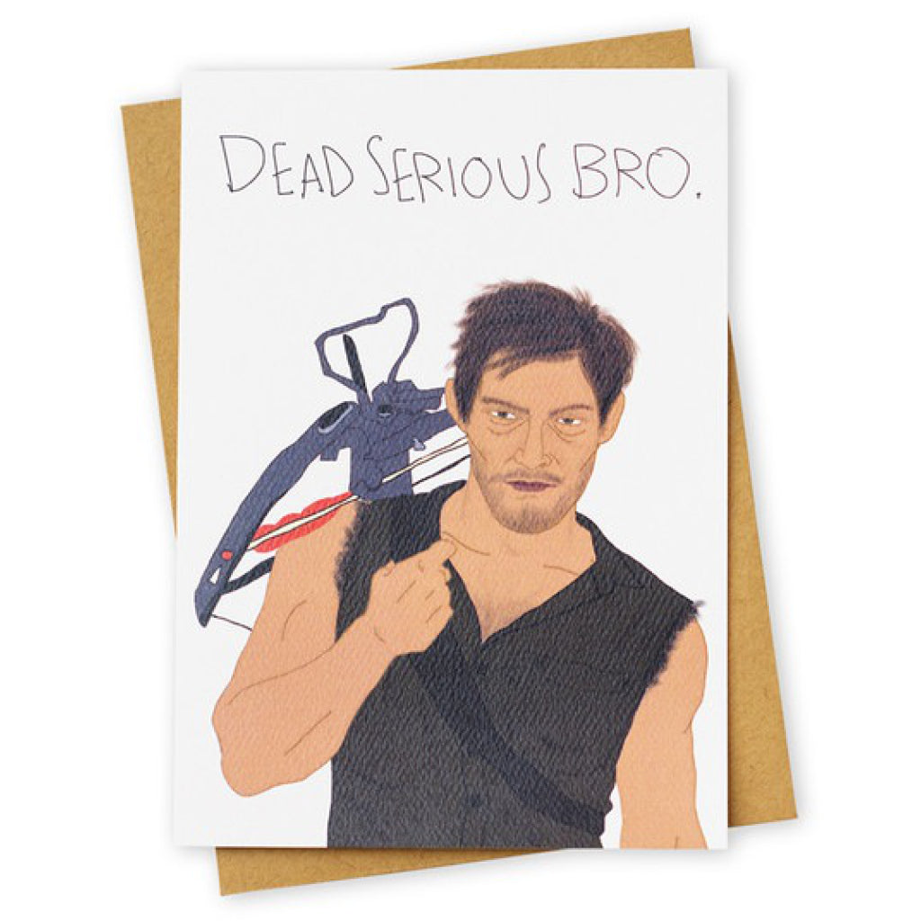 Walking Dead Serious Card