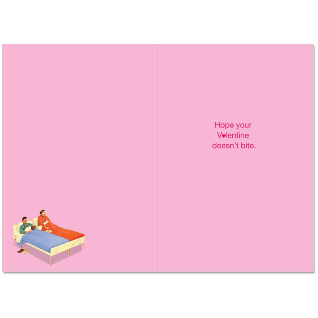 What Did Your Dentist Say Valentines Card inside