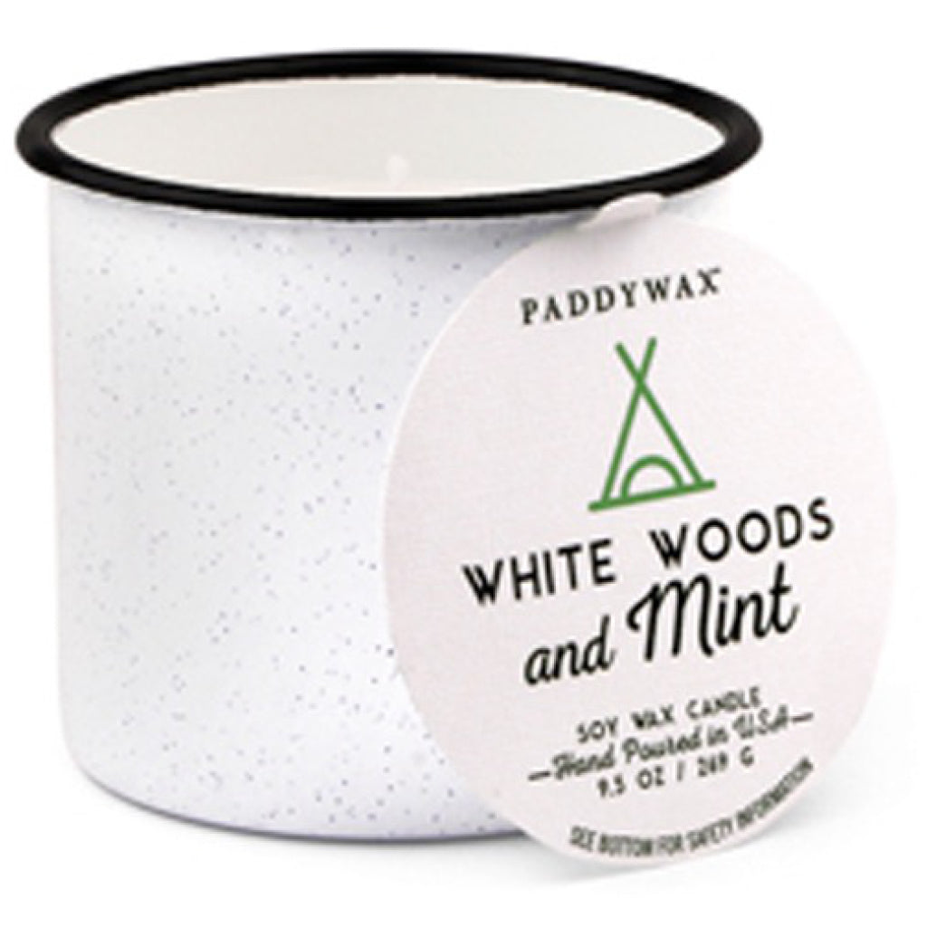 White Woods & Mint 9 oz. Alpine Candle